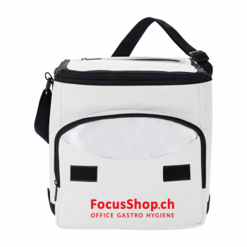 Isotherme Faltschultertasche, weiss