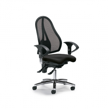 Bürodrehstuhl Sitness 40 NET, schwarz