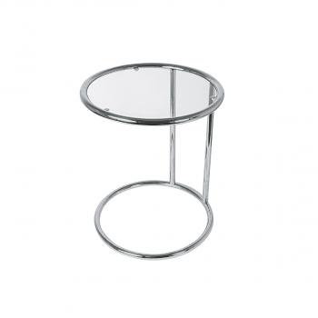Glastisch SITU, Höhe 540 mm, Durchmesser 440 mm
