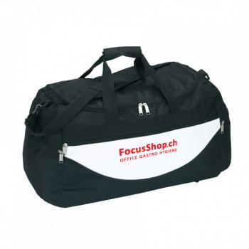 Sport- und Reisetasche, schwarz