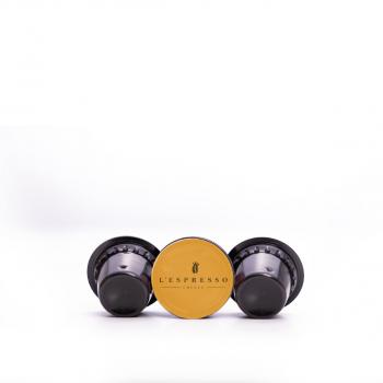 L'espresso Kapseln, Oro Lungo, Delizio kompatibel, 1 Pack à 50 Stück