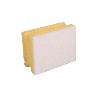 Padschwamm Profi klein gelb, weiss, Pack à 10 Stuck
