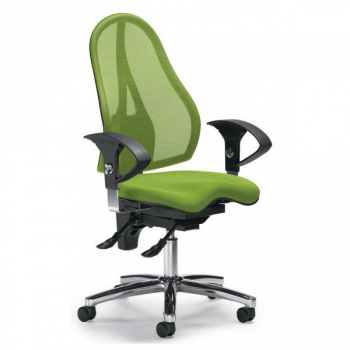 Bürodrehstuhl Sitness 40 NET, grün
