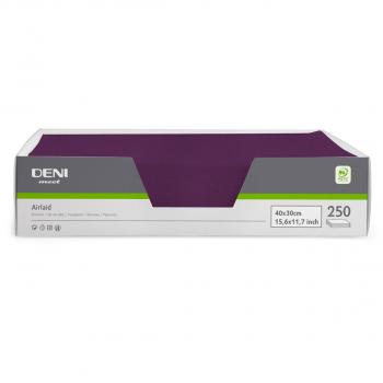 DENI meet Tischset Airlaid, violett, 30x40cm, Pack zu 250 Stück