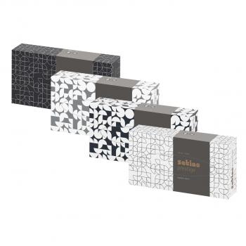 Mouchoirs cosmétiques Satino prestige, 2 couches, extra-blanc, 21 x 20.5 cm, boite de 100 pièces