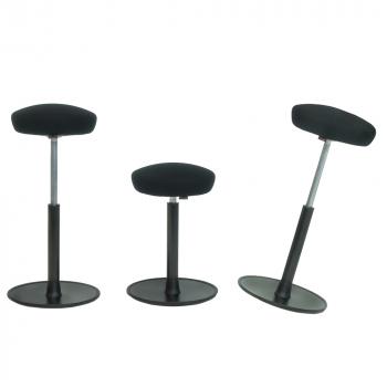 Actiforce Activity Sitz- /Stehtischhocker, schwarz