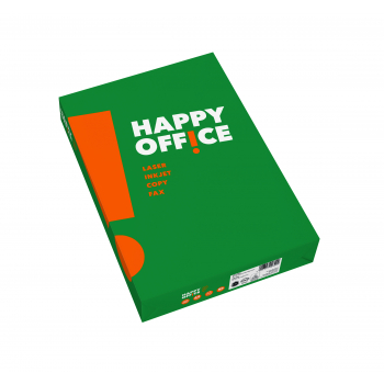 Papier copieur Happy Office A4, 80g/m2, blanc, paquet de 500 feuilles
