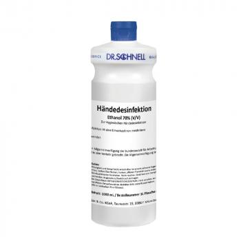 Handdesinfektionsmittel Dr. Schnell, Flasche à 1 Liter