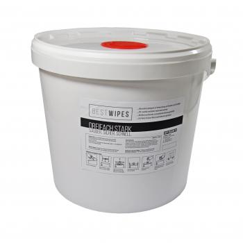 Best Wipes Flächendesinfektionstücher, im Eimer 800 Tücher, (25 x19 cm)