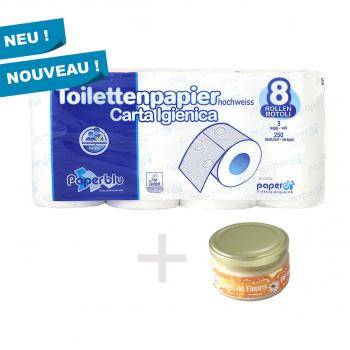 40 Pack WC-Papier + 1 Honig 250 g GRATIS