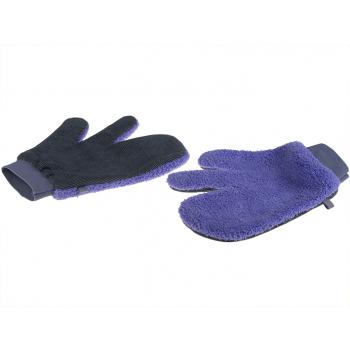 Magic Purple Mikrofaserhandschuh, 26 x 21 cm, wendig, magnetisch, schmutzbindend, 1 Paar à 2 Stk.