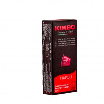 Kimbo Rosso Nespresso® kompatible Kapseln, 10er Pack