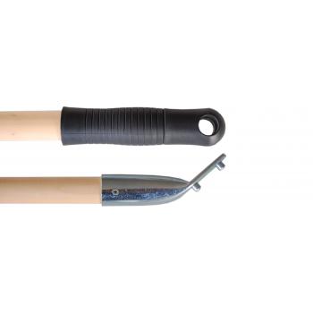 Holzstiel mit CH-Stielhalter | 150 cm | Durchmesser 24 mm | Körper: Buchenholz FSC