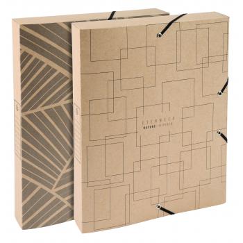 Exacompta Archivbox, A4,Eterneco R 40 mm sortiert, FSC, ISO 9706, Natura