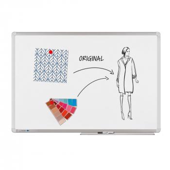 Legamaster Whiteboard Universal Plus, Schreibtafel, emailliert, weiss, 90 x 120cm