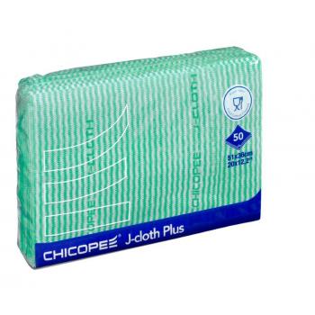 Reinigungstuch J-Cloth Plus grün | 51 x 36 cm | 1 Pack à 50 Stück