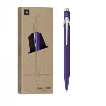 Caran D'Ache Kugelschreiber 849, violett, Nespresso Edition 3