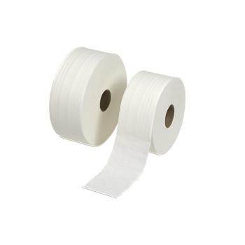 Toilettenpapier Edelweiss 2-lagig, weiss, 10 cm x 360 m, Pack à 6 Rollen
