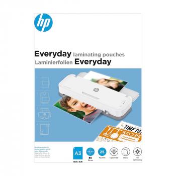 HP Everyday Laminierfolien, A3, 80 Micron, Pack à 25 Stück