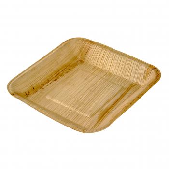 Palmblatt-Teller, quadratisch, 170 x 170 mm, Pack à 25 Stück