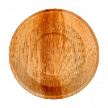 Palmblatt-Teller, rund, 24 cm, Pack à 25 Stück