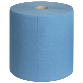 Edelweiss Reinigungsrolle 3-lagig (Maxi), blau, 34.0 cm x 396 m