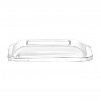 Deckel glasklar aus PLA, passend zu Artikel 009804, Pack à 50 Stück