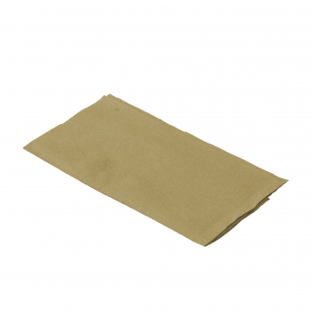 Servietten braun aus Zellstoff, 1- lagig, 1/8 Falz, 33 x 32 cm, Pack à 300 Stück