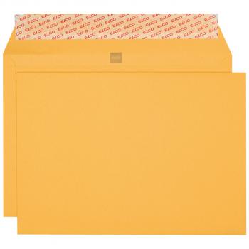ELCO Briefumschläge Gelb Bank C4 324 x 229 mm, gelb, Pack à 250 Stück