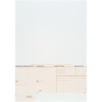Einzahlungsscheine ESR orange, geboxt, 90 g/m² auf A4, Karton à 1'000 Stück