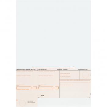 Einzahlungsscheine BESR orange, gerahmt, 90 g/m² auf A4, Karton à 1'000 Stück