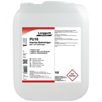 Bad- & Duftreiniger PU16, Kanister mit 10 Liter
