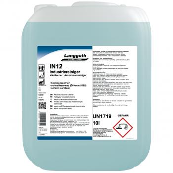 Industriereiniger IN12, Kanister mit 10 Liter