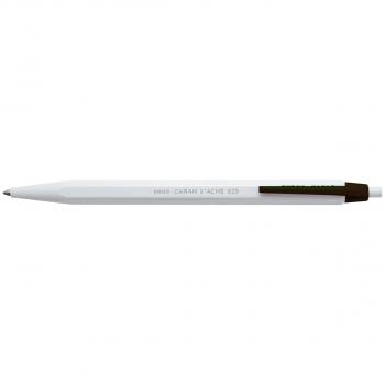 CARAN D'ACHE Einweg-Druckkugelschreiber 825 Schreibfarbe schwarz