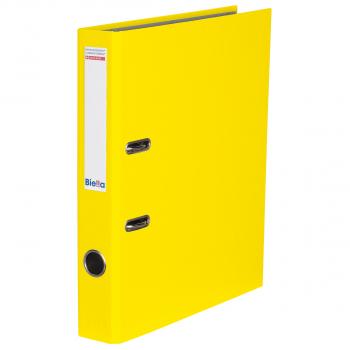 Biella Bundesordner mit 4 cm Rückenbreite, gelb