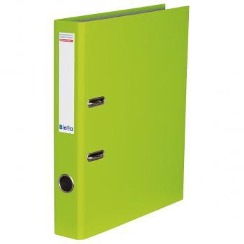 Biella Bundesordner mit 4 cm Rückenbreite, hellgrün