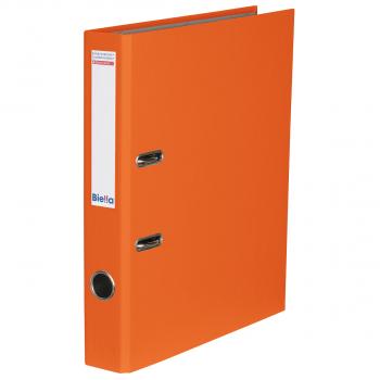 Biella Bundesordner mit 4 cm Rückenbreite, orange