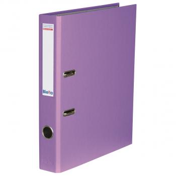 Biella Bundesordner mit 4 cm Rückenbreite, violett