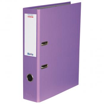 Biella Bundesordner mit 7 cm Rückenbreite, violett
