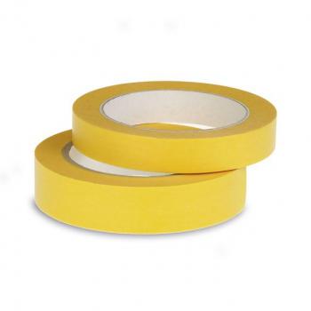 Abdeckband Top Gold gelb, 50 mm x 50 m, 4 Rollen