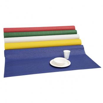 Tischtuchpapier blau, 1-lagig, 100 cm x 50 m, mit Damastprägung