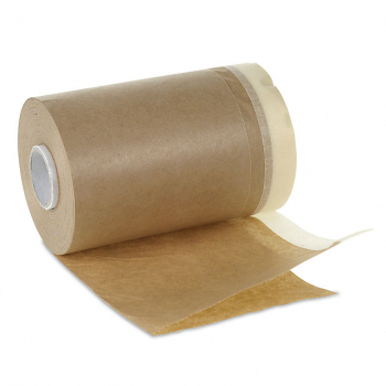 permafix Abdeckpapier mit Papierkebeband 050 braun, 18 cm x 20 m
