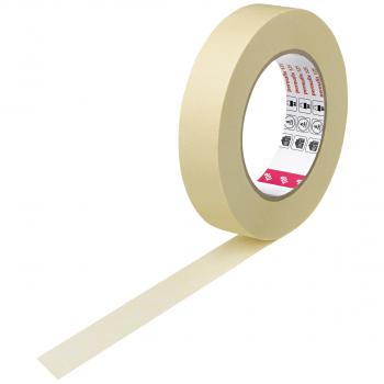 permafix Abdeckband 125 beige, 25 mm x 50 m, 9 Rollen