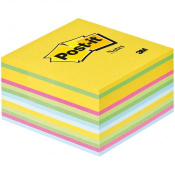 Post-it Haftnotizwürfel ultrafarben 76 x 76 mm mit 450 Blatt
