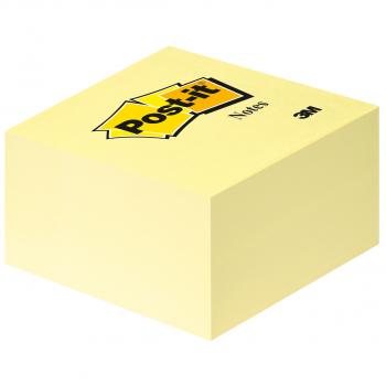 Post-it Haftnotizwürfel gelb 76 x 76 mm mit 450 Blatt