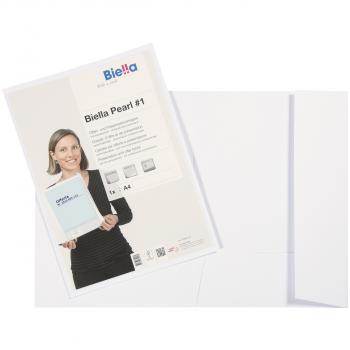 Biella Offert- und Präsentationsmappe Pearl #1, weiss
