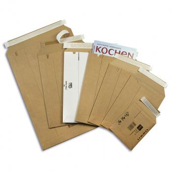 ELCO Versandtaschen safe für z.B. CD, Gewicht 25 g, braun, 25 Stück