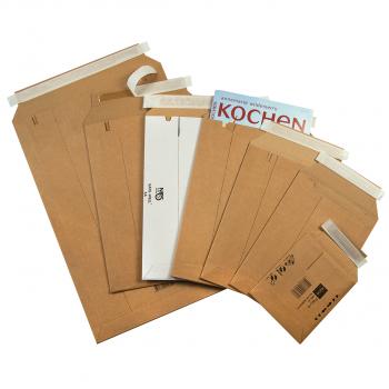 ELCO Versandtaschen safe für z.B. A3/C3, Gewicht 158 g,mit Aufreissband, 352 x 516mm, braun, Bund à 25 Stk.