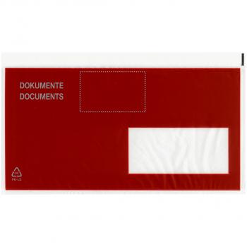 Postkonforme Dokumententaschen C5/6 235 x 120 mm, Fenster rechts, Pack à 250 Stück