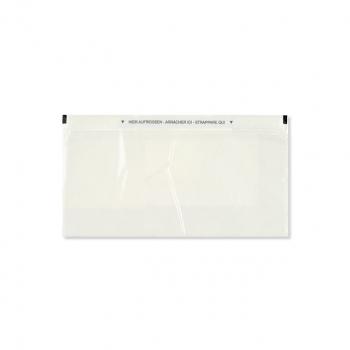 Dokumententaschen C5/6 235 x 120 mm transparent, Pack à 250 Stück